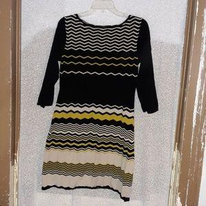 Heavy sweater dress